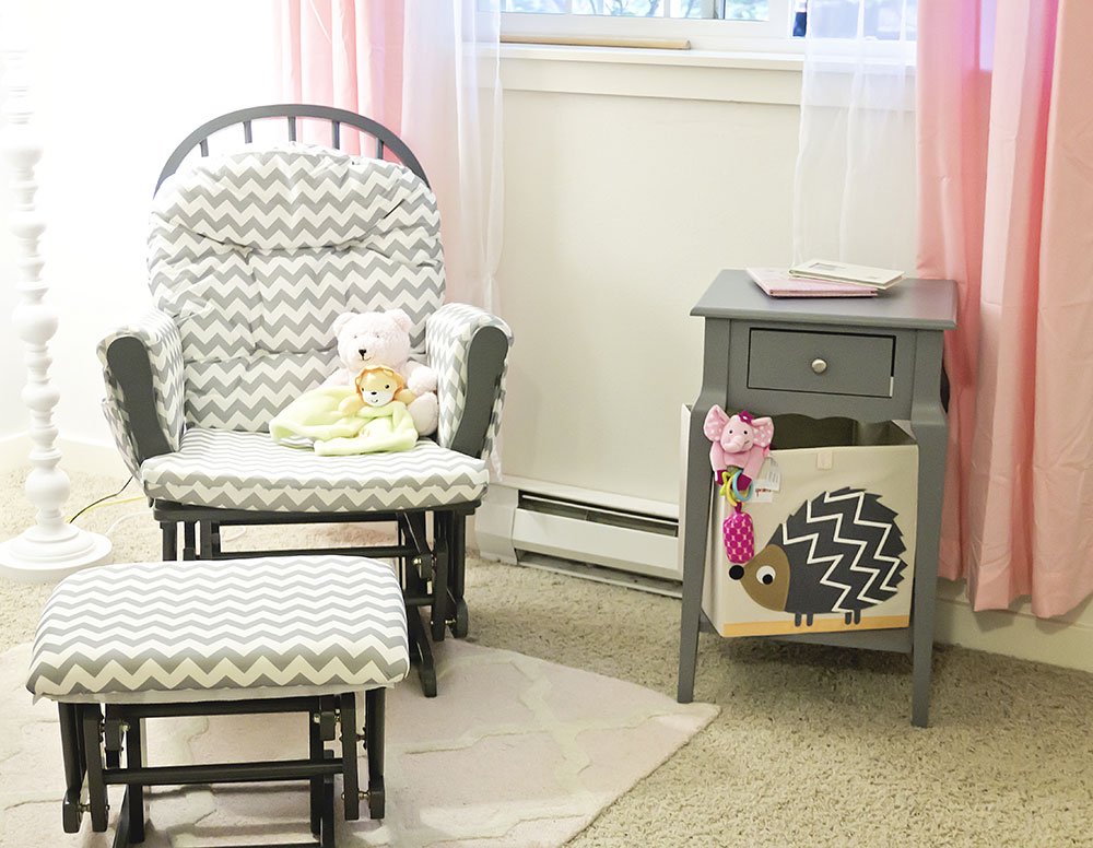 Nursery Seating Area